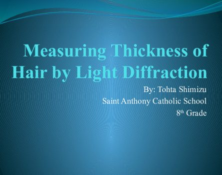 Measuring-Thickness-of-Hair-by-Light-Diffraction-0